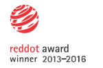 Reddot Design award 2013, 2016